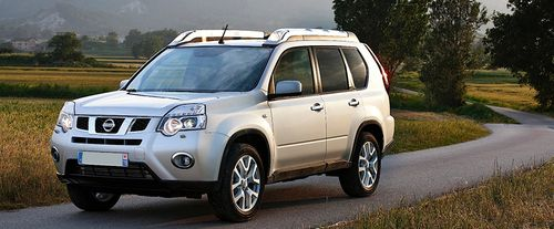 X- Trail Front angle low view