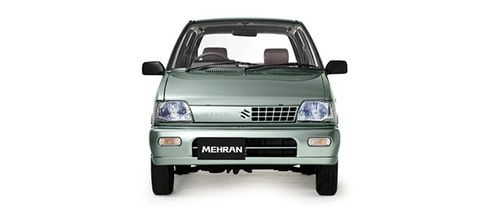 Full Front View of Mehran