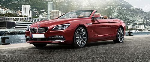 6 Series Convertible Front angle low view